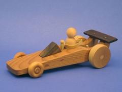 Racing Wood Cars In Science